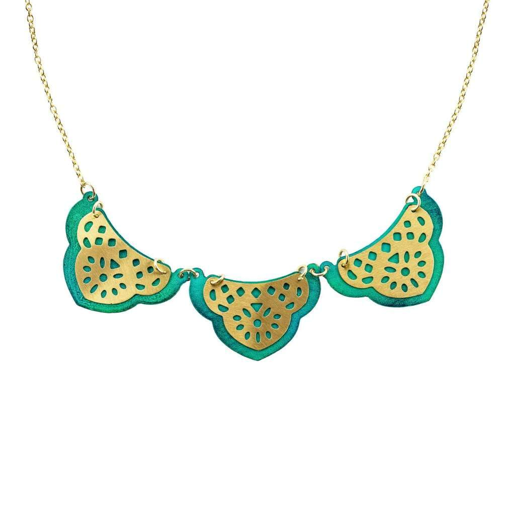 Jaladhi Sea Treasure Necklace - Rebel Vine Boutique