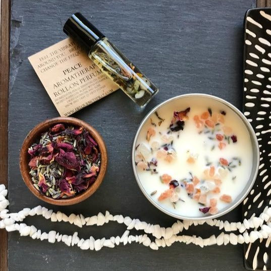 Peace Aromatherapy Natural Perfume Roller - Rebel Vine Boutique