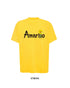 Amarillo Spray Script Tee