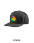 Rainbow Flower Baseball Hat - Black