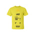 Receipt Tee Yellow