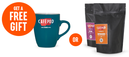 Black Friday 2016 - Get a Free Mug or 200g Coffee