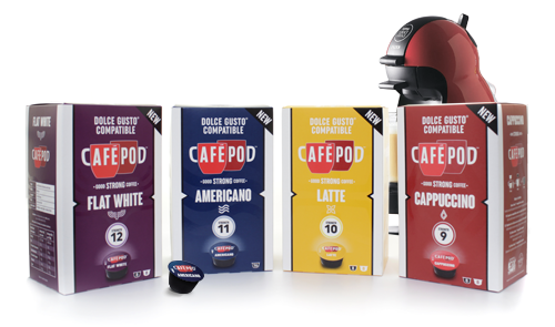 Dolce Gusto® Compatible Capsules
