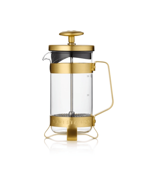 Barista & Co. 3 Cup Coffee Press - Midnight Gold