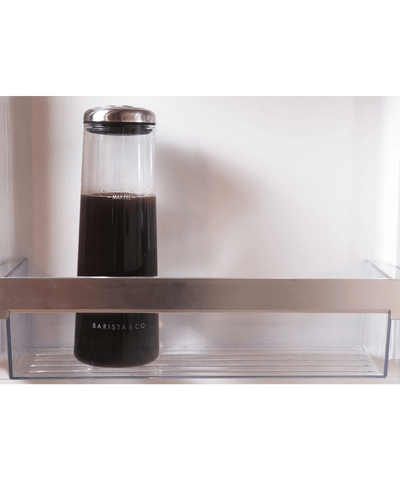 Barista & Co. Glass Cold Brew Carafe - Electric Steel