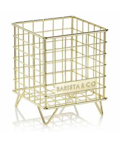 Barista & Co. Corral Pod Coffee Capsule Storage - Gold