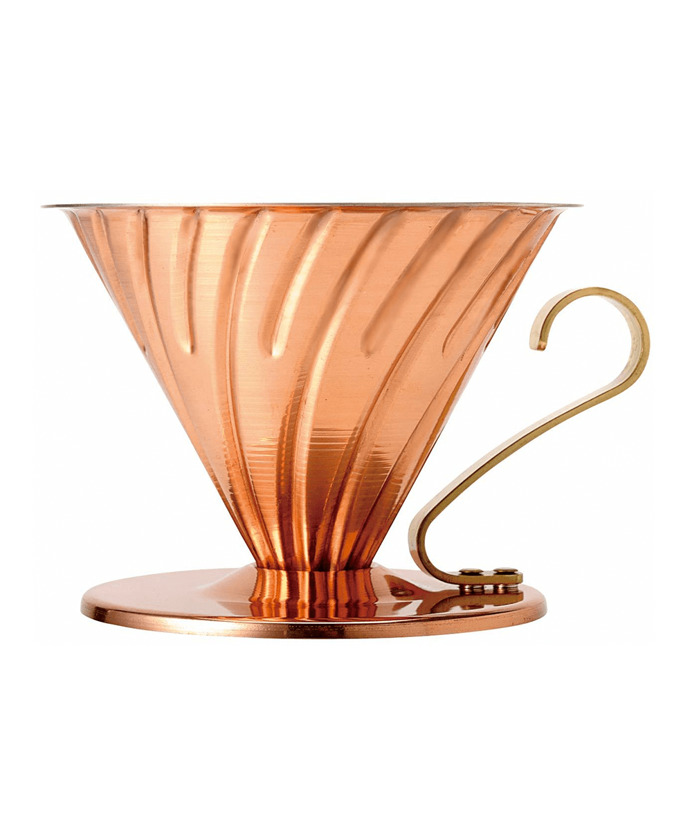 Hario V60 Copper Coffee Dripper - 02 - Copper