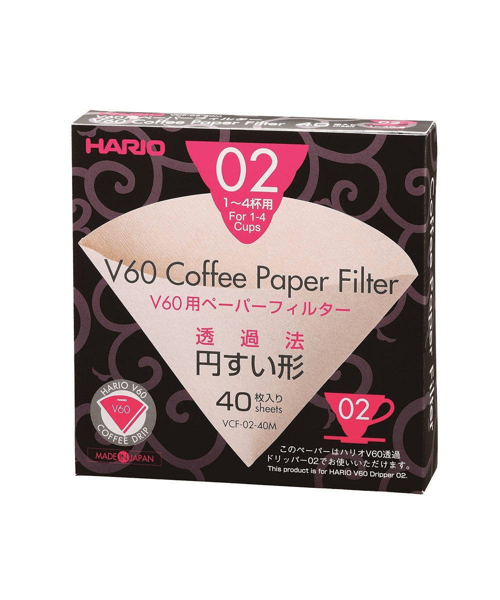 Hario V60 Filters 02 - 40 Misarashi Papers