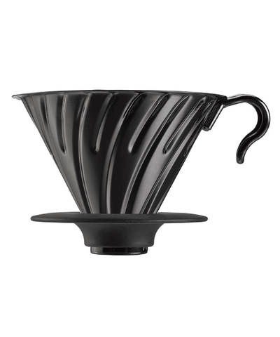 Hario V60 Metal Coffee Dripper - 02 - Matte Black