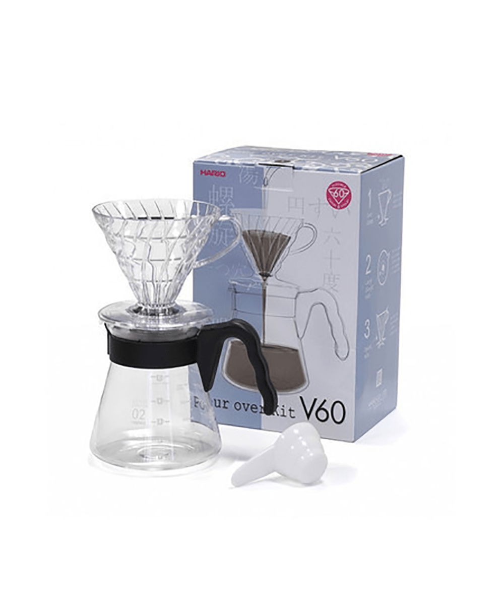 Hario V60 Pour Over Set 02 - Black