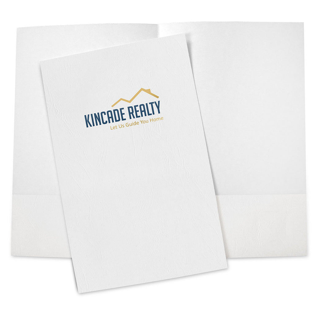 Foil Stamped Legal Size Presentation Folders – 2-Color