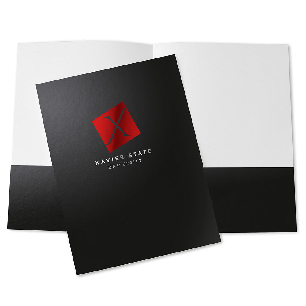 Presentation Folders – 2-Color Foil Stamped