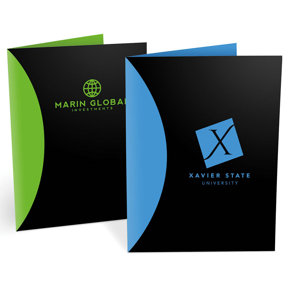 Splash Presentation Pocket Folders – 1-Color