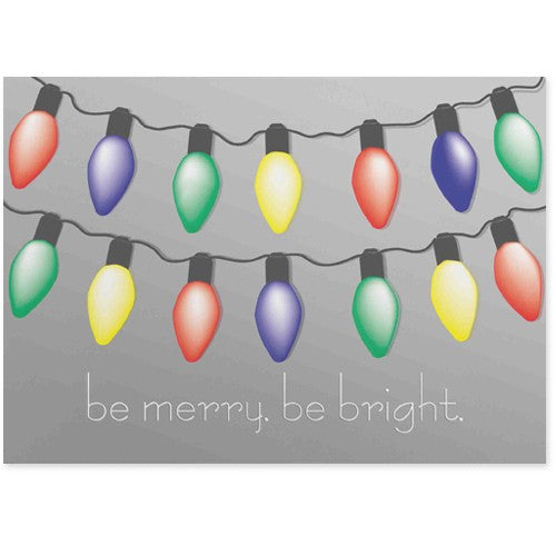 Festive Lights Holiday Greeting Card