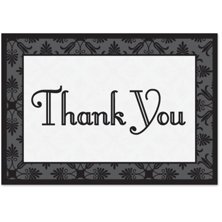 Decorative Thank You Card