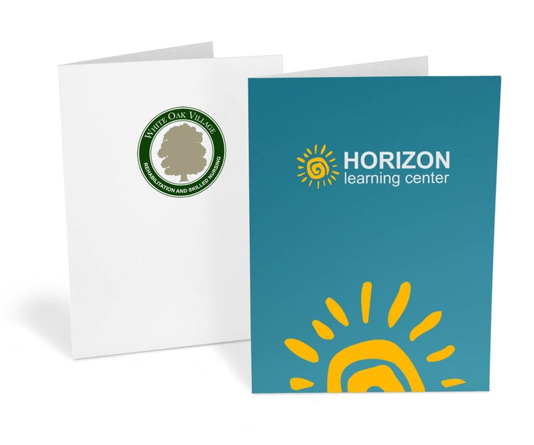 Standard Presentation Folders – 2-Color Ink Printed