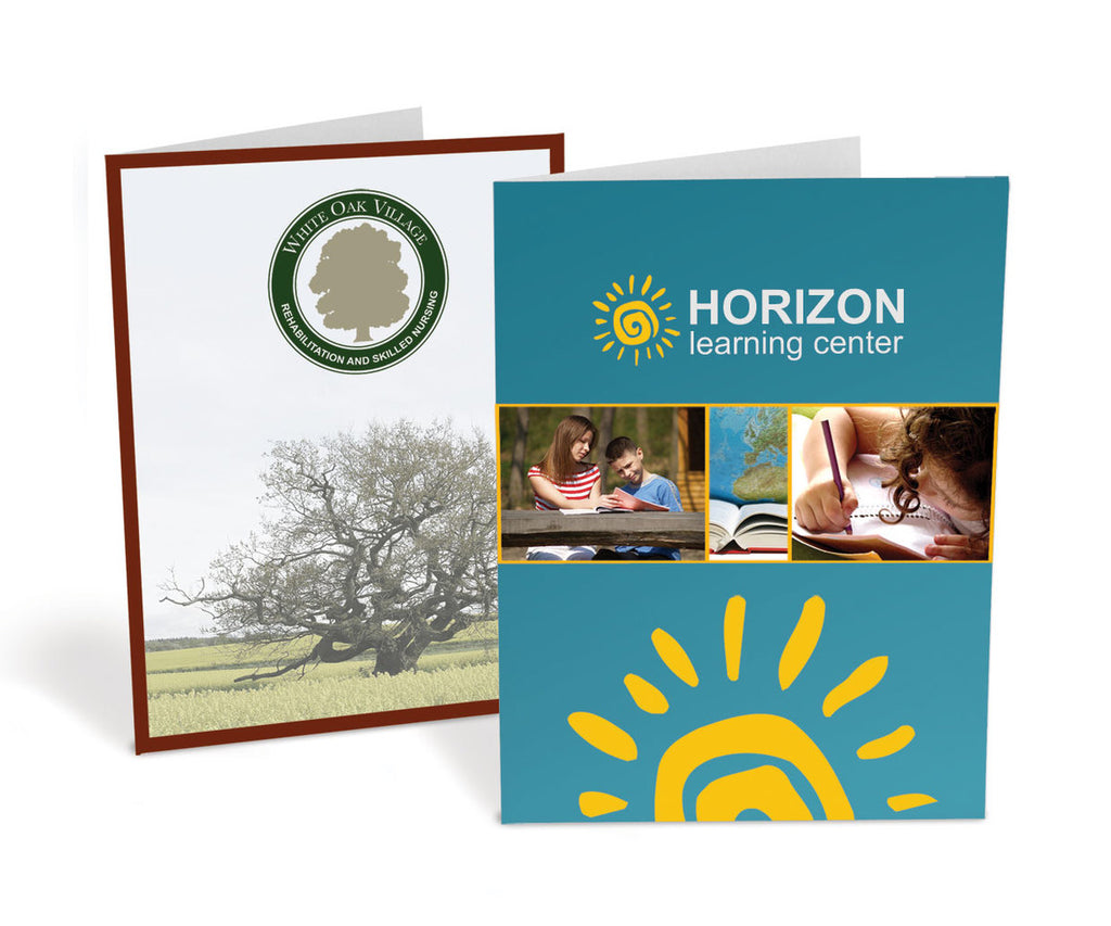Standard Presentation Folders – 4-Color Ink Printed