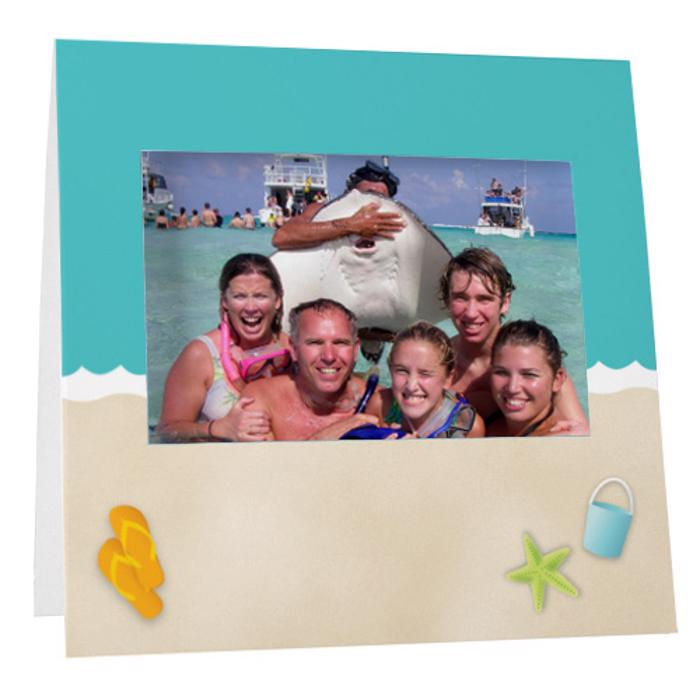 Beach Fun Instax Frame