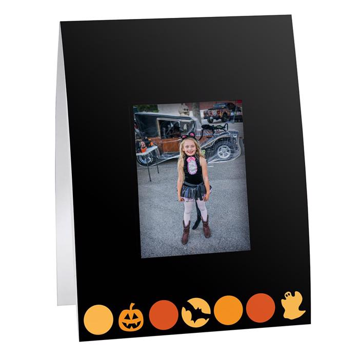 Halloween Dots Instax Mini Frame