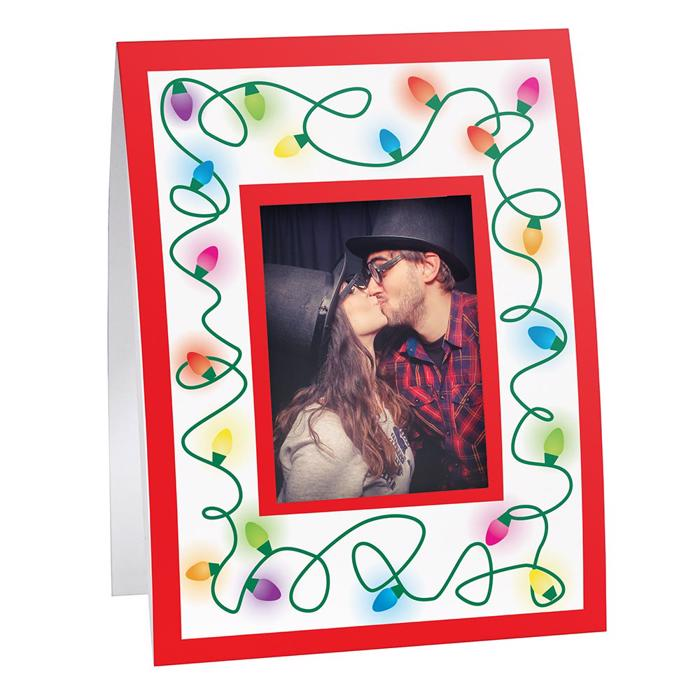 Holiday Lights Instax Mini Frame