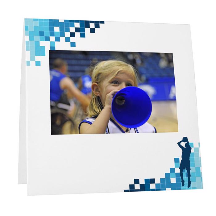 Basketball Locker Room Instax Frame