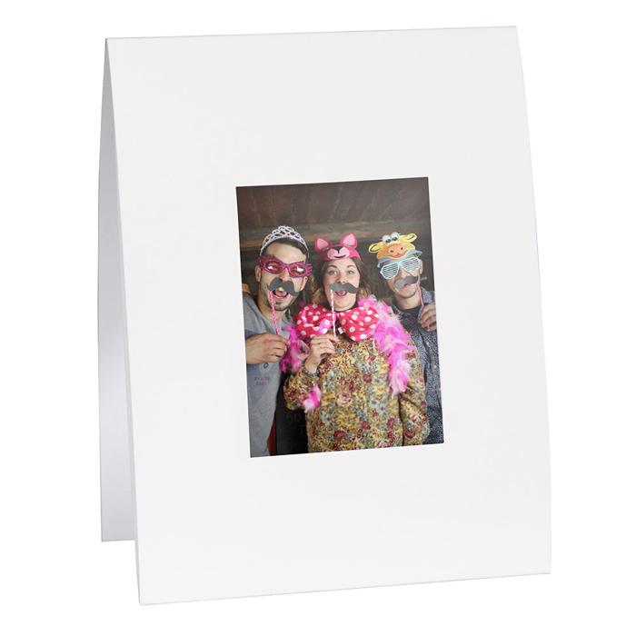 Solid White Instax Mini Frame