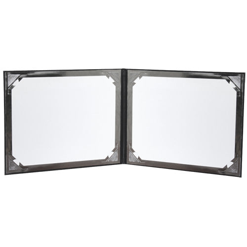 Double View Horizontal Padded Folio