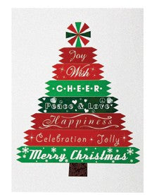 Designer Tree Holiday Greeting Card