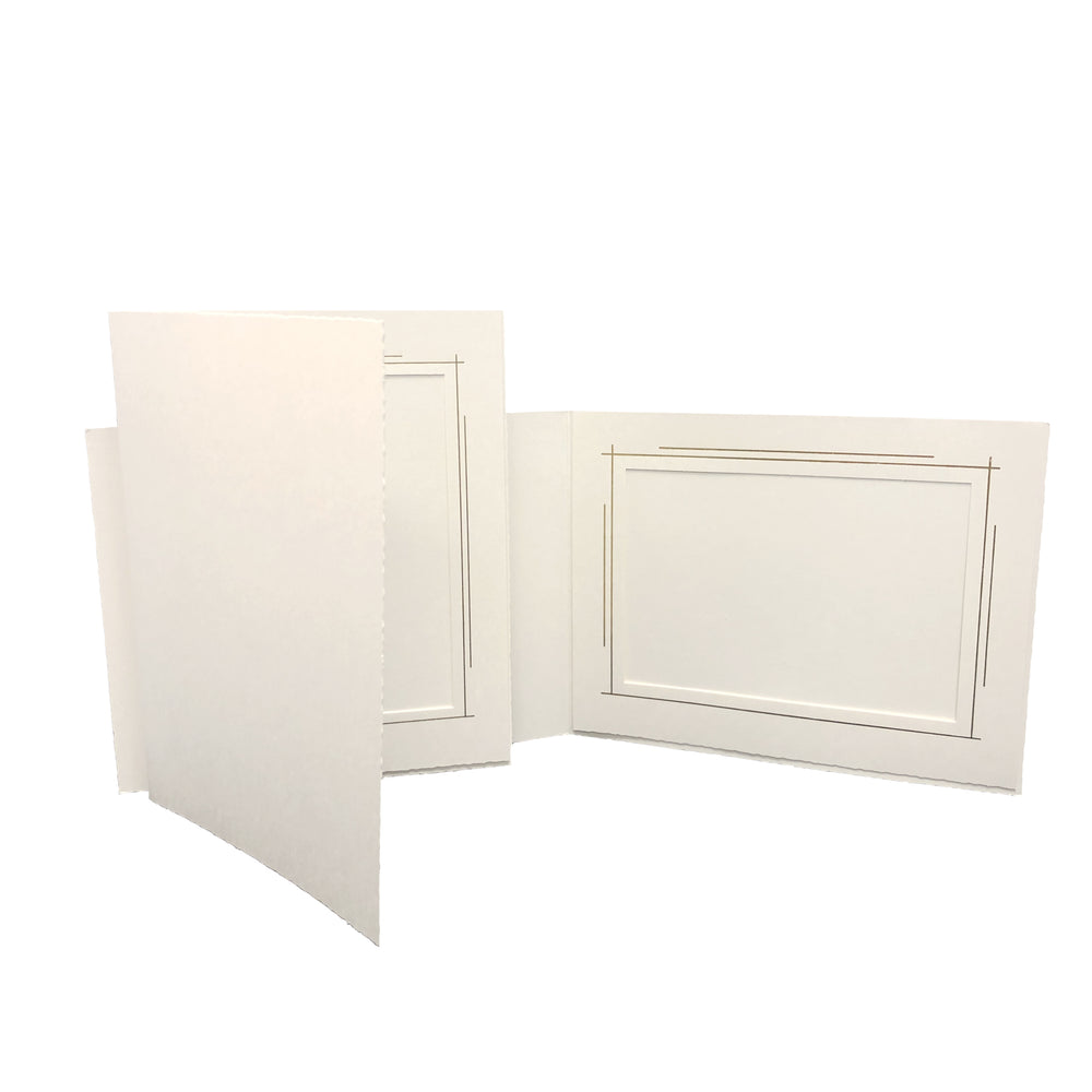 Abstract Trim Folders frames