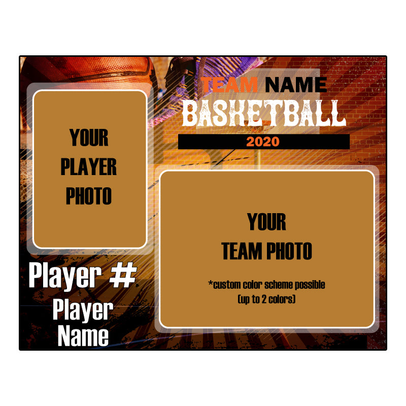 Custom basketball Digital Memory Mate