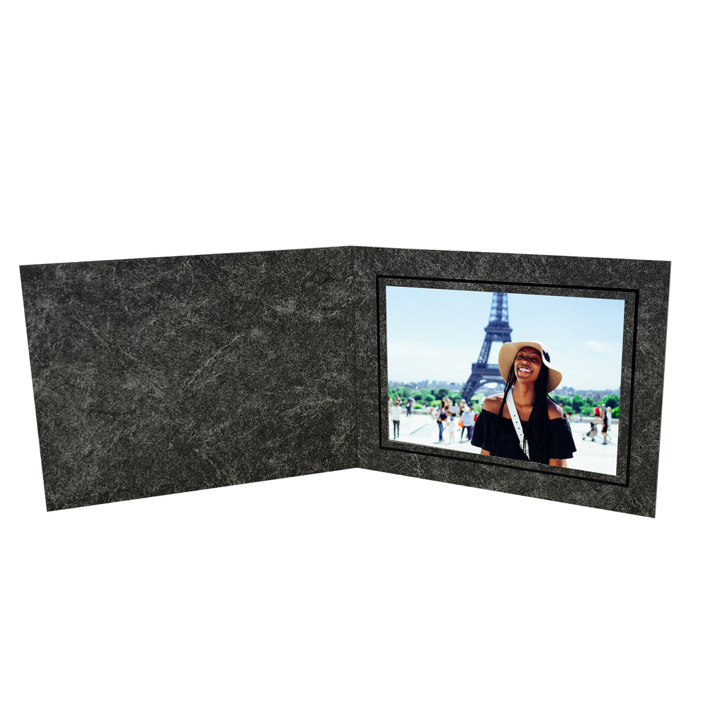 Pillar Folders frames with black trim in horizontal orientation