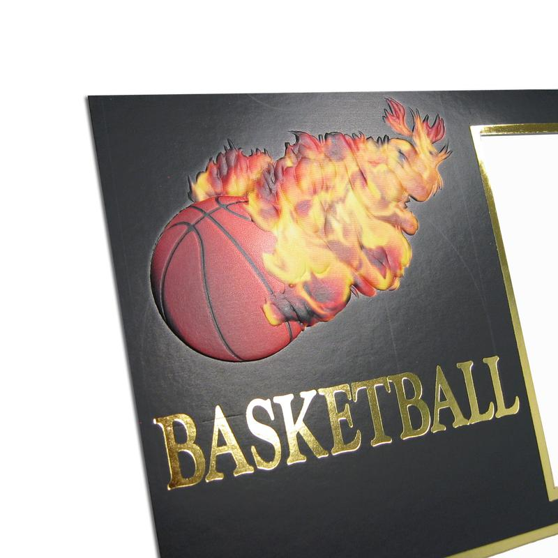 Basketball themed Black/Gold Sports Series Memory Mates