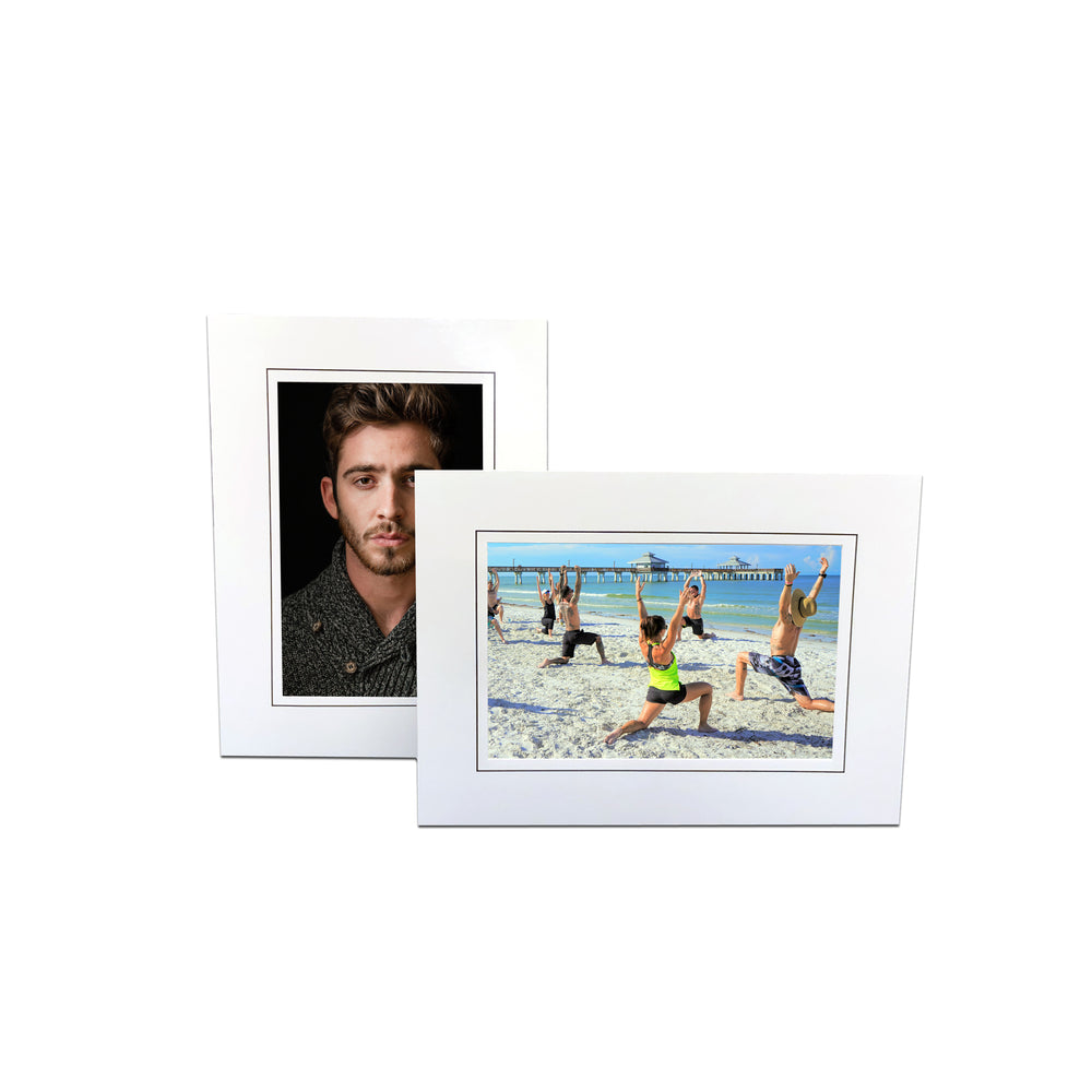 Bottom Loading Easel White frames