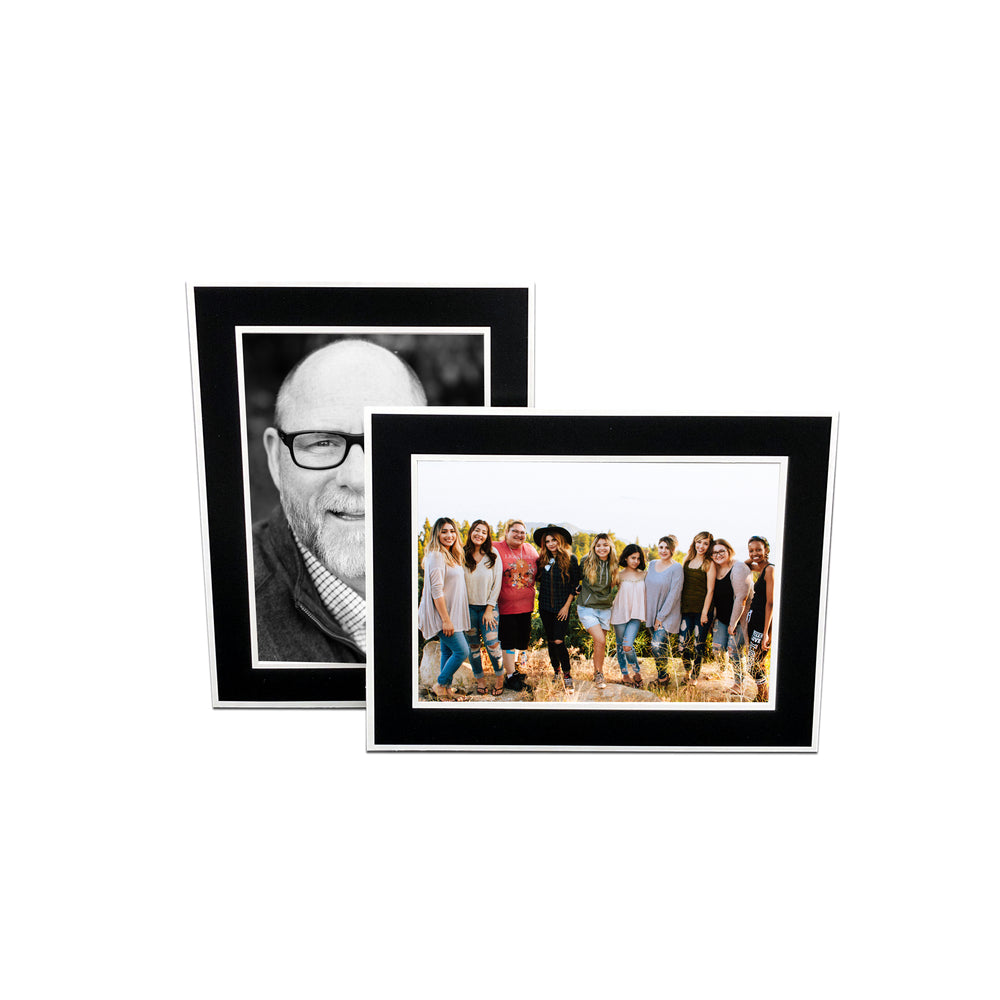 Black Chicago Easel Series frames