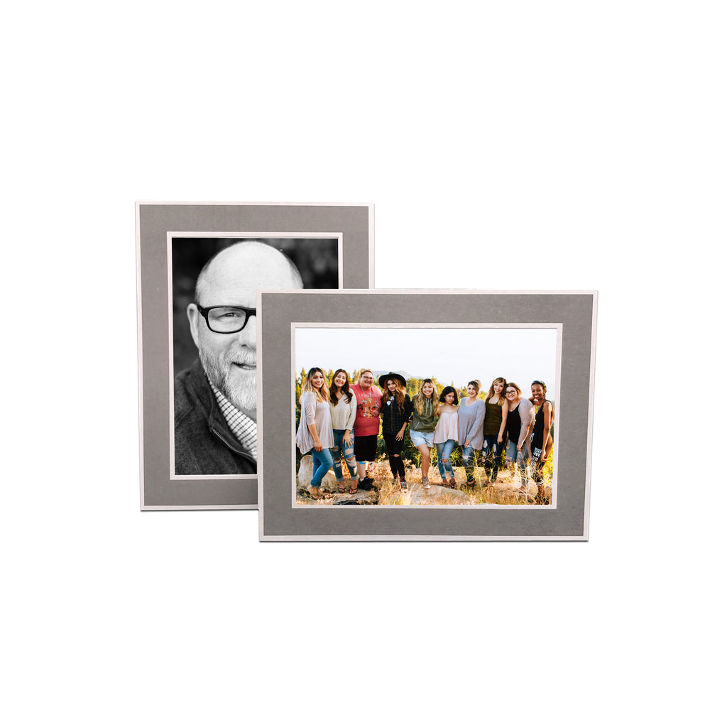 Gray Chicago Easel Series frames