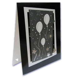 Digital Themed Series Easel 8x10 - Confetti