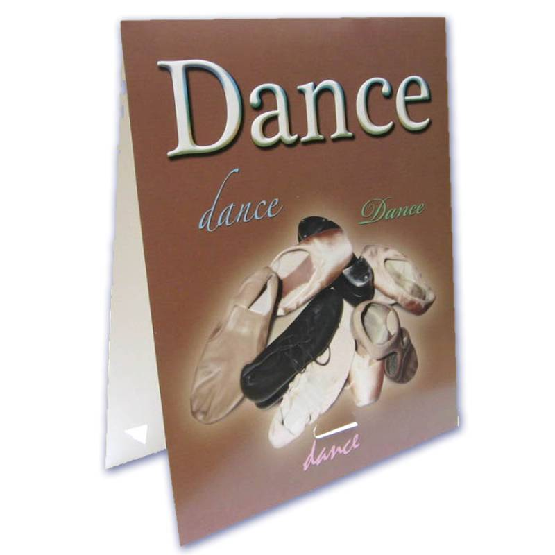8x10 dance Digital Themed Series Easel