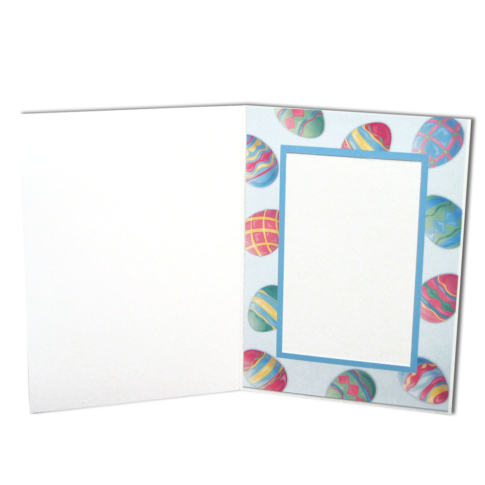 4x6 Easter Eggs Folder frames