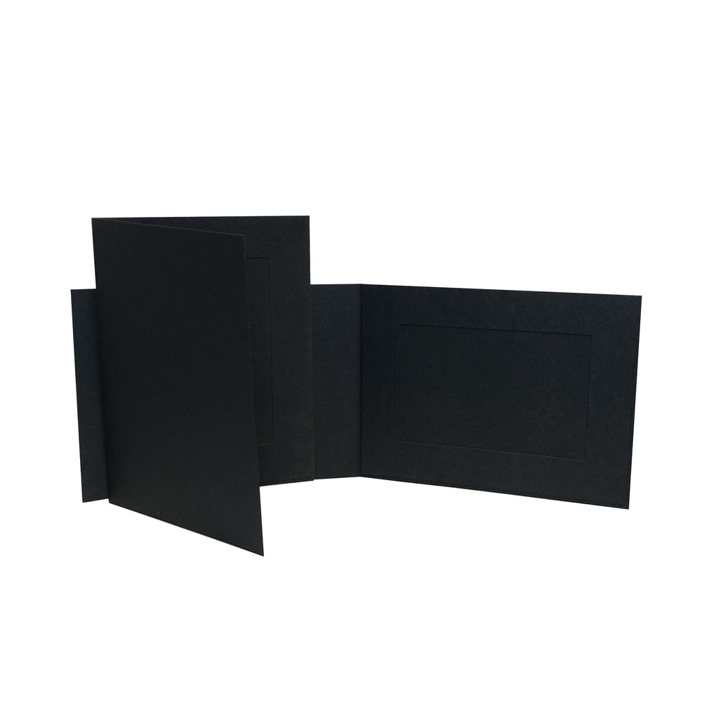 Black EconoBright Folders Blank frames