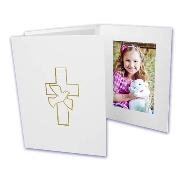 4x6 EconoBright Folders Stamped Series with cross foil stamp