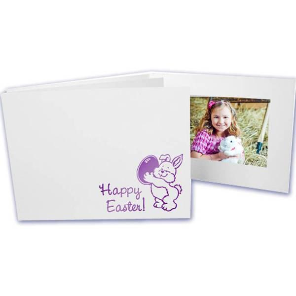 6x4 EconoBright Folders Stamped Series with Easter bunny foil stamp