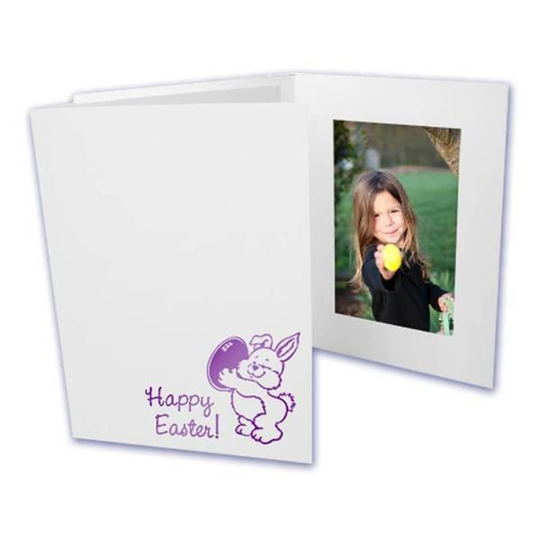 4x6 EconoBright Folders Stamped Series with Easter bunny foil stamp