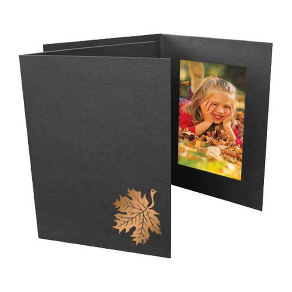 4x6 EconoBright Folders Stamped Series with autumn leaves foil stamp