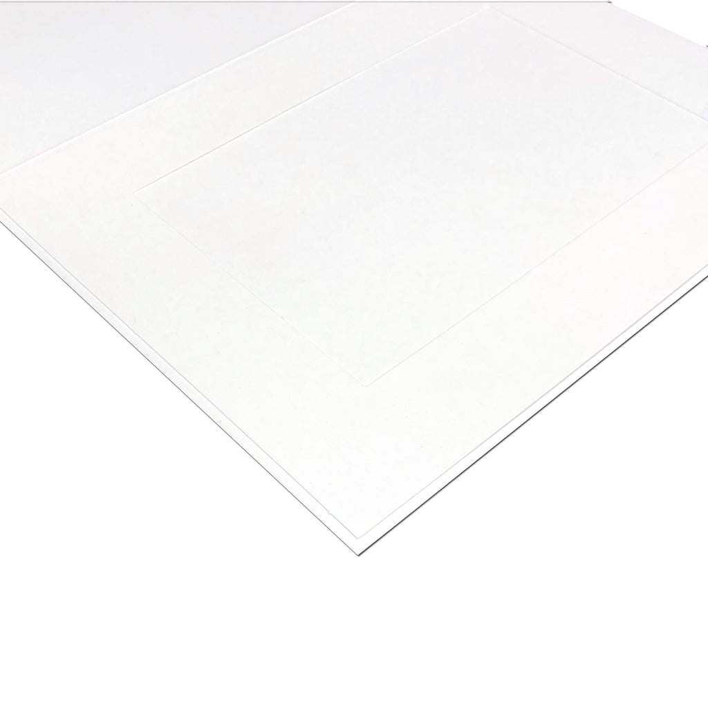 EconoBright Folders Blank - White