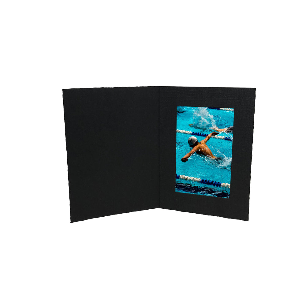 Black Enviro Folders frames in vertical orientation