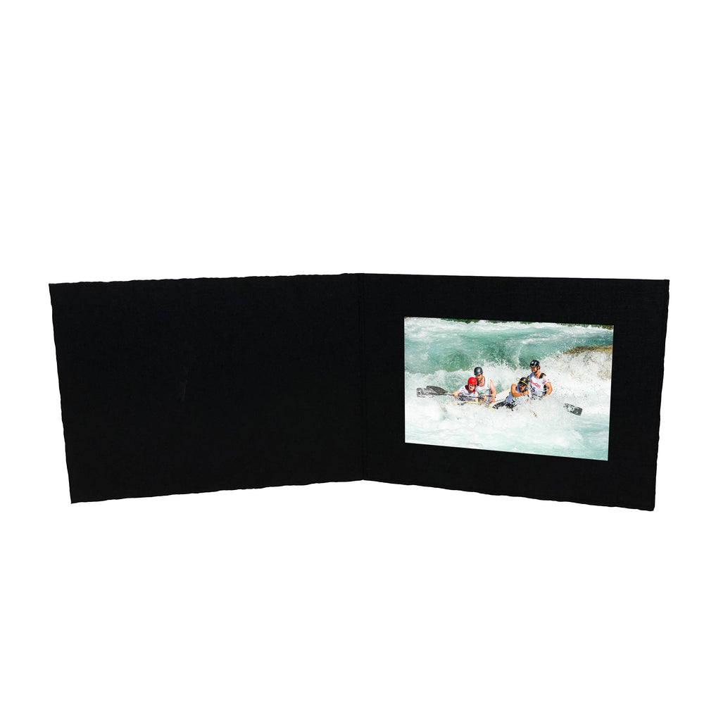 Black Enviro Folders frames in horizontal orientation