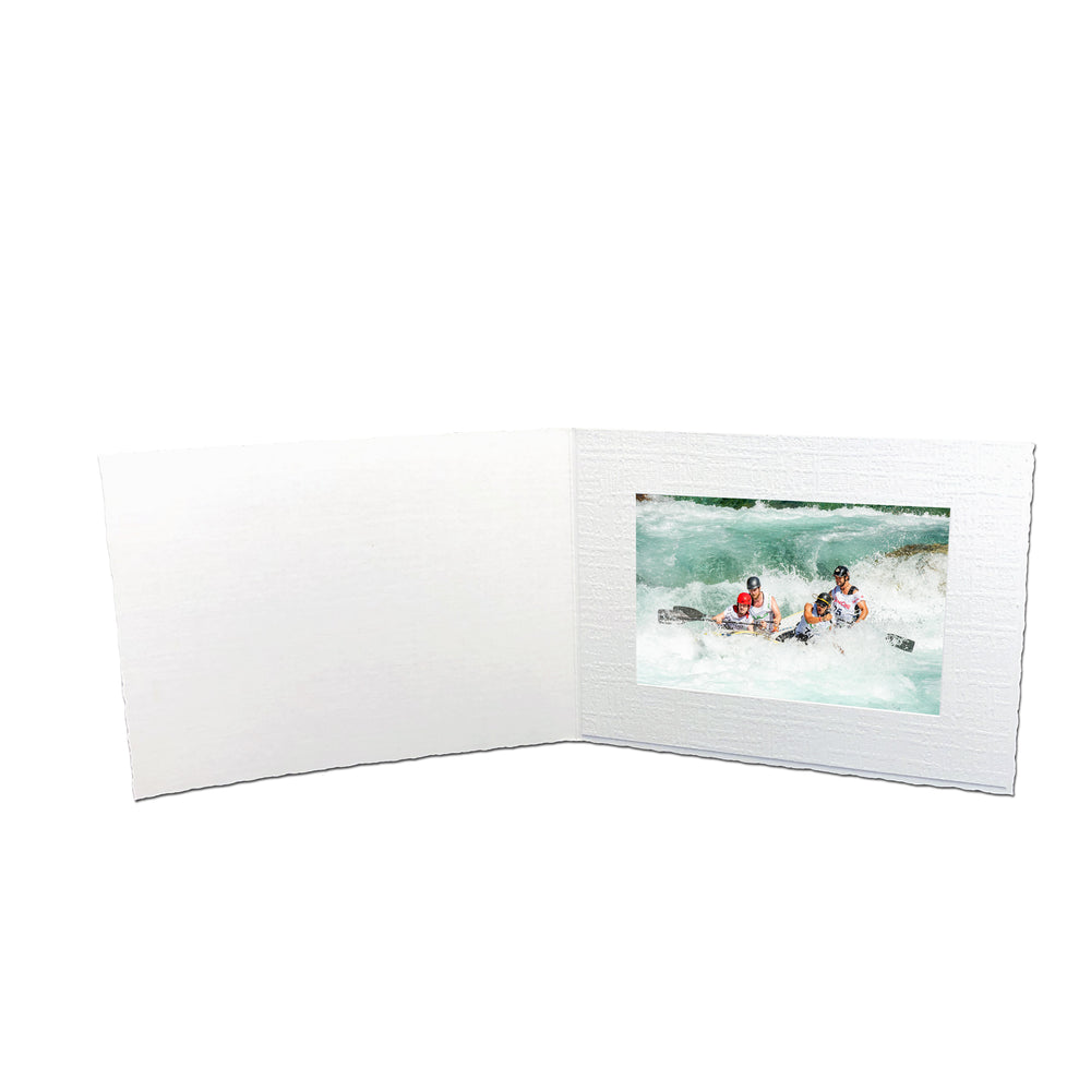 White Enviro Folders frames in horizontal orientation