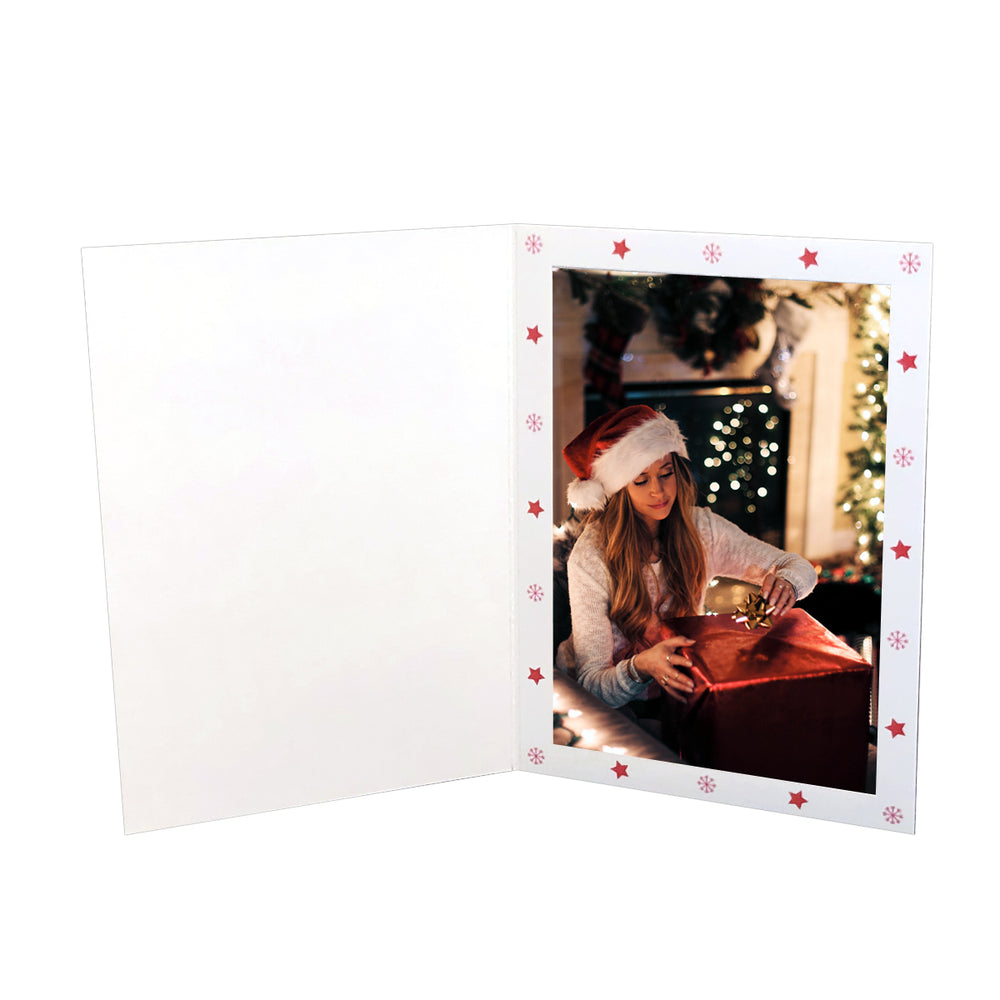 4x6 or 5x7 Frosty Folder frames