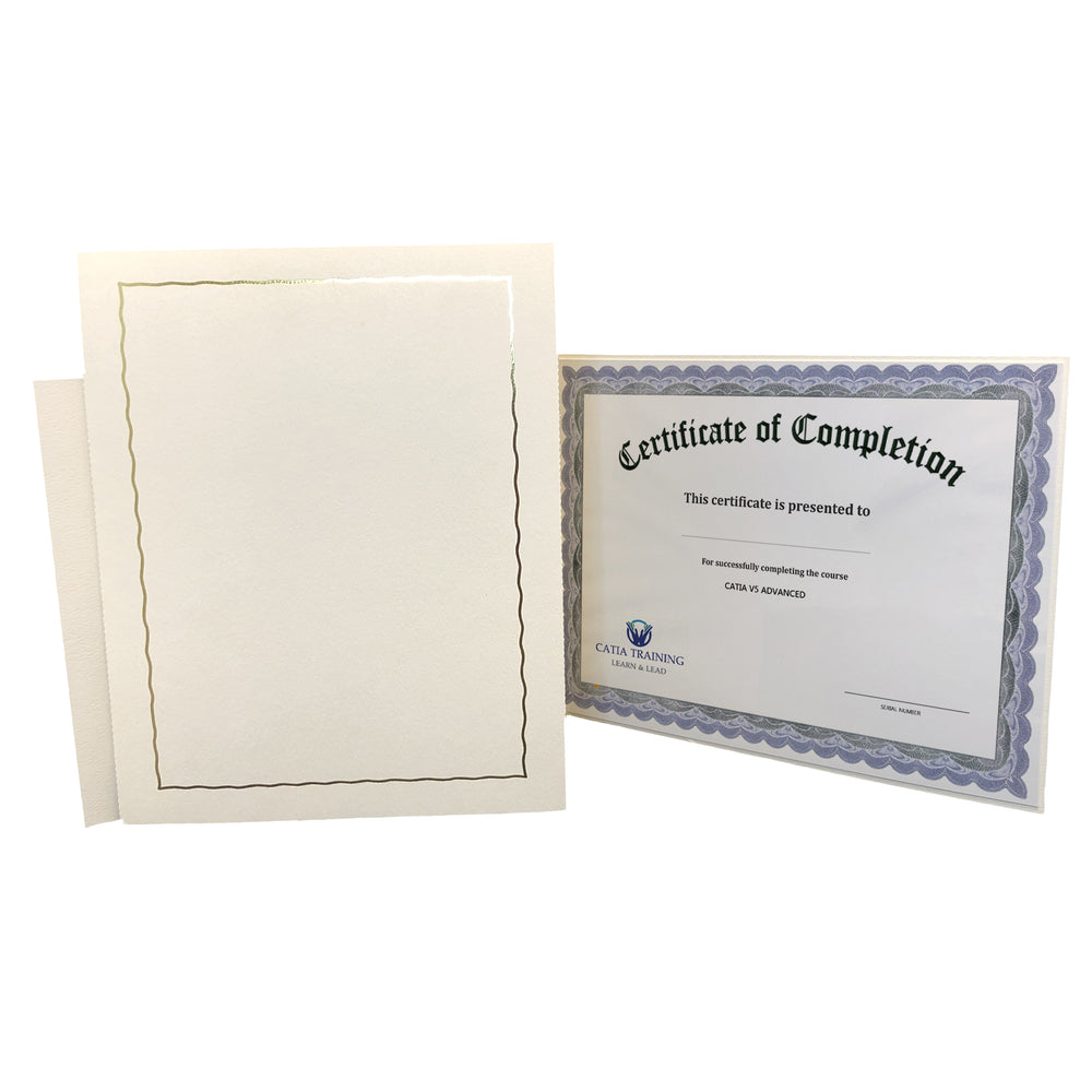 Global Certificate Series - White