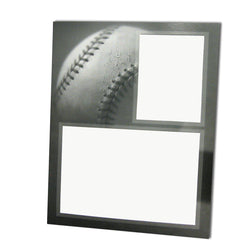 Gray-Scale Sports Series Memory Mate Easels - Baseball